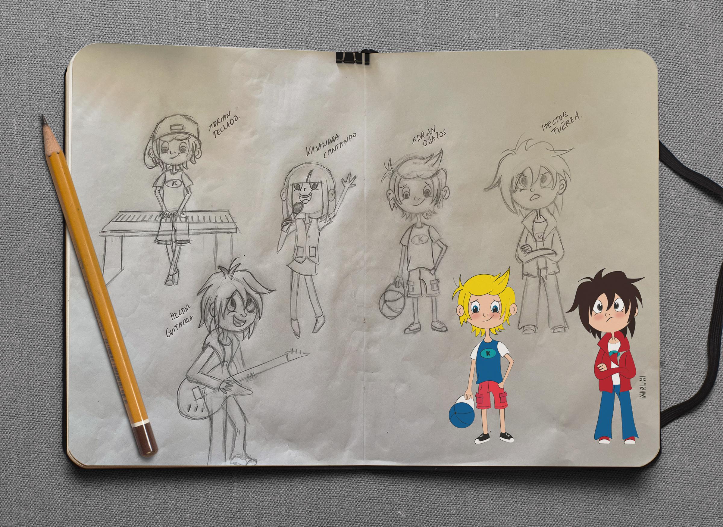 Sketchbook DRAEWING 02